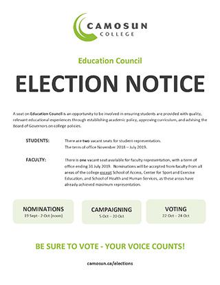 Election Notice-Education Council