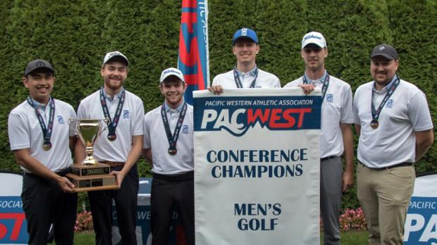 Chargers are crowned 2019-20 PACWEST Men's Golf Champions