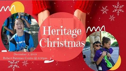 BC Heritage Christmas Event