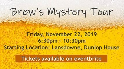 Camosun Hospitality Management students host Brew's Mystery Tour