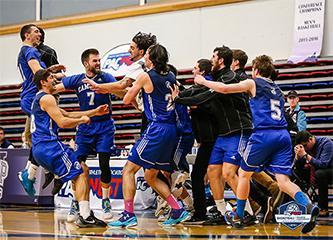 Camosun celebrates men's basketball silver