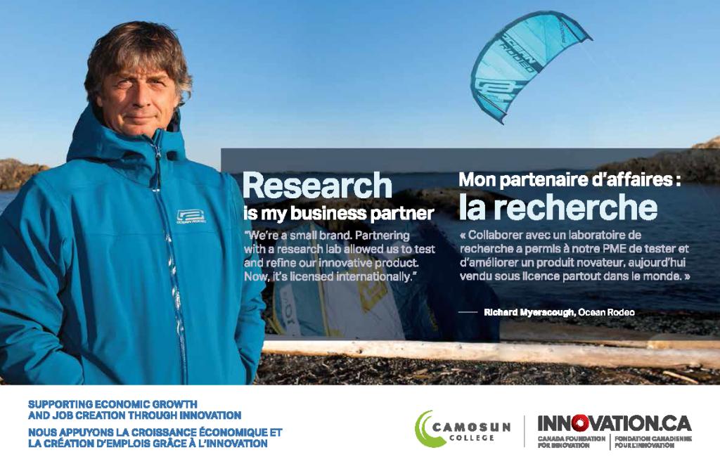 Groundbreaking kiteboarding innovation takes flight in new ad at Ottawa airport