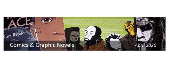 April is Comics and Graphic Novels Month...