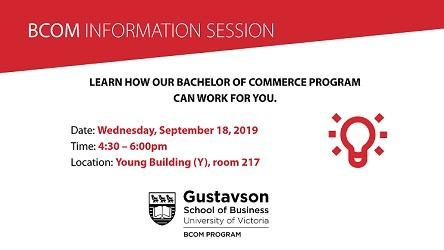 Bcom Information Session