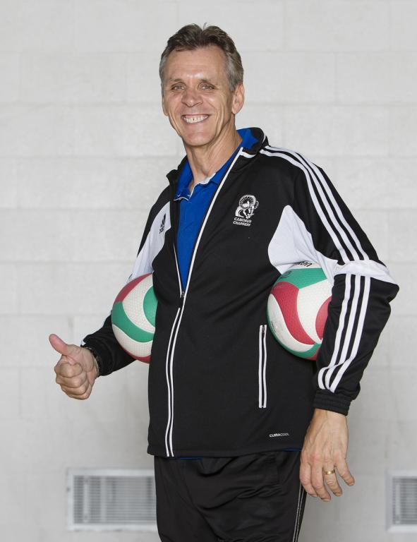 Camosun congratulates Charles Parkinson, 2016 Volleyball BC Hall of Fame Inductee
