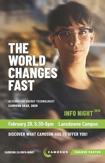 Camosun College Info Night