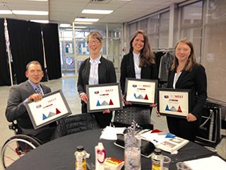 Camosun College takes FIRST place at the Alberta, HRC West case competition for HR students.