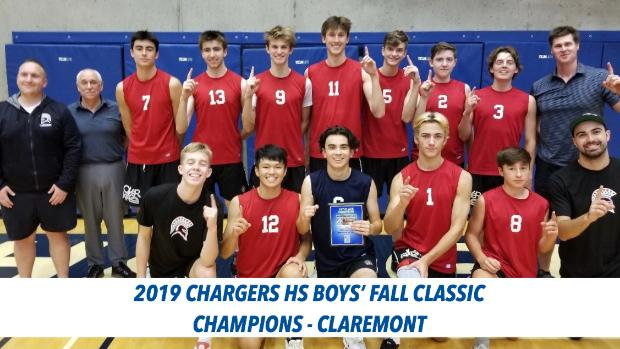 Defending champions Claremont Spartans win 2019 Camosun Chargers High School Fall Classic