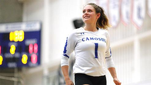 Chargers volleyball student-athlete Katie Wayling caps collegiate career with Camosun's prestigious President's Cup