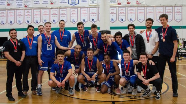 Chargers men's basketball team captures bronze at at 2019 PACWEST Provincial Championships