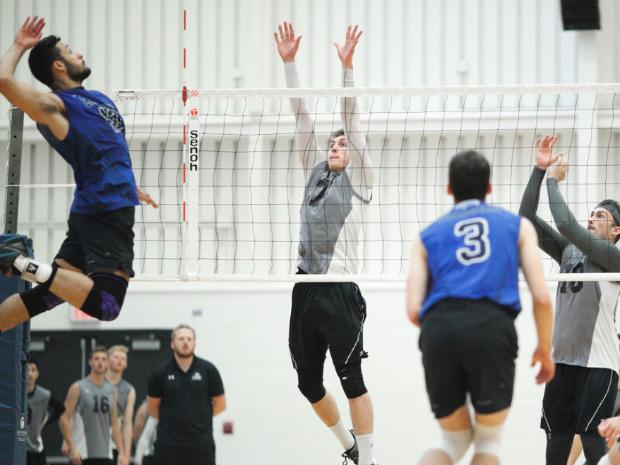 Chargers men's volleyball team rallies forward following rough opening weekend