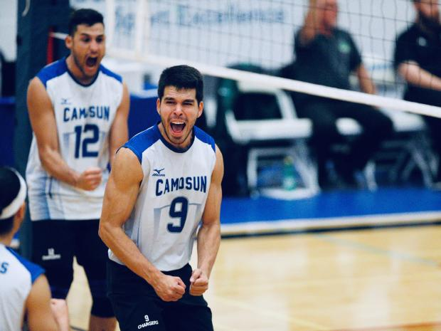 Brazilian duo lead Chargers to Top 5 CCAA National Ranking