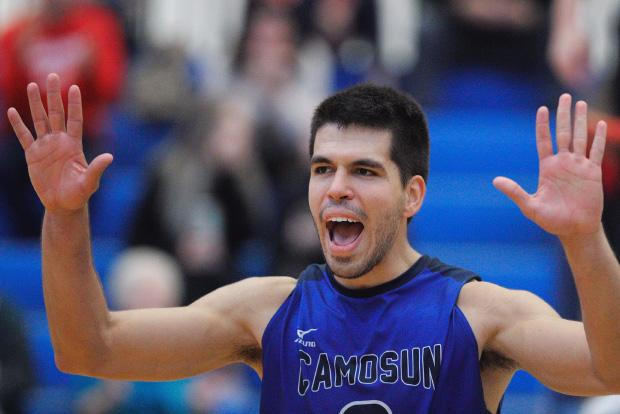 Camosun's Eduardo Bida combines skill and leadership to deliver a winning weekend