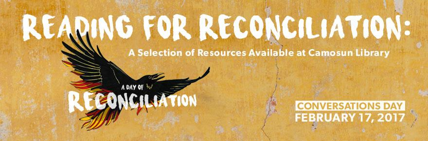Reading for reconciliation: a selection of resources...