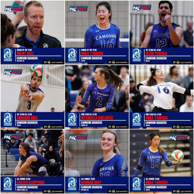 2019 PACWEST Volleyball Awards