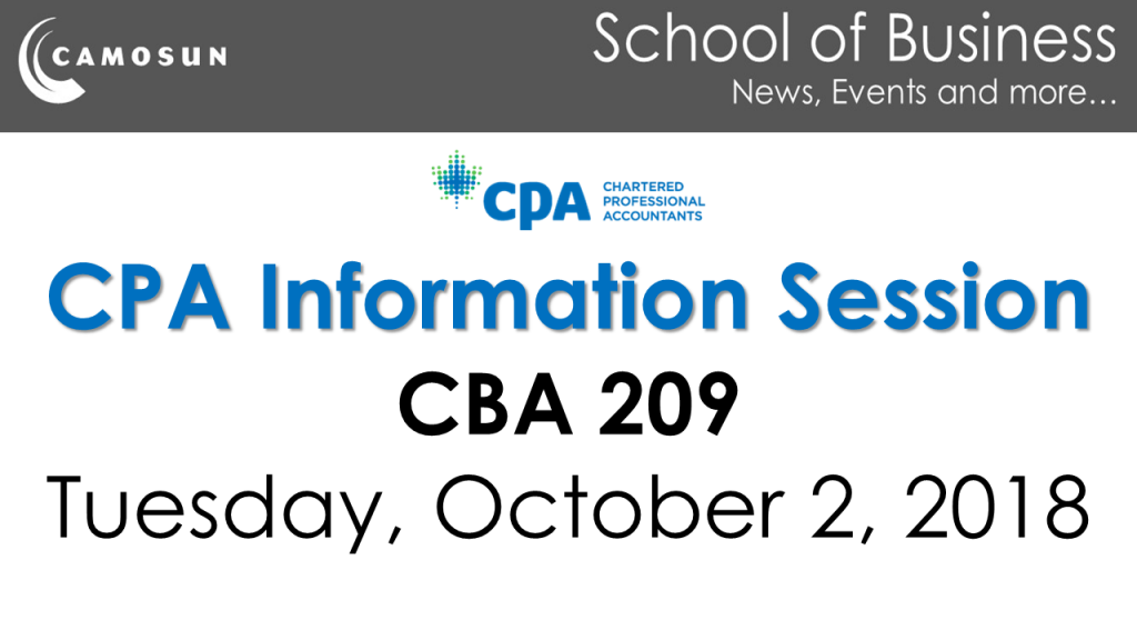 CPA Information Session