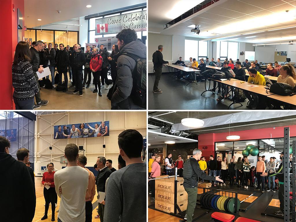 CSEE Hosts Rotterdam Sport Management Students