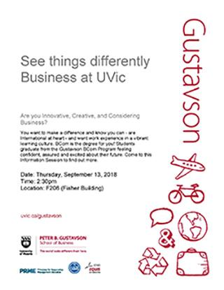UT Business/UVic Info Session