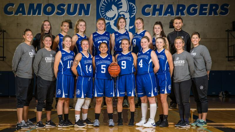 Camosun Chargers women's basketball team faces new season with continued tenacity