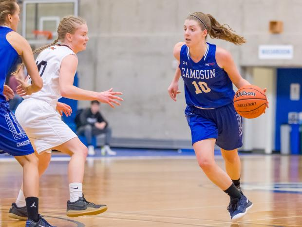 Charger Kathryn Candell leads Camosun women's basketball team to a winning weekend