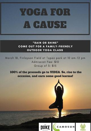 Yoga for a Cause!