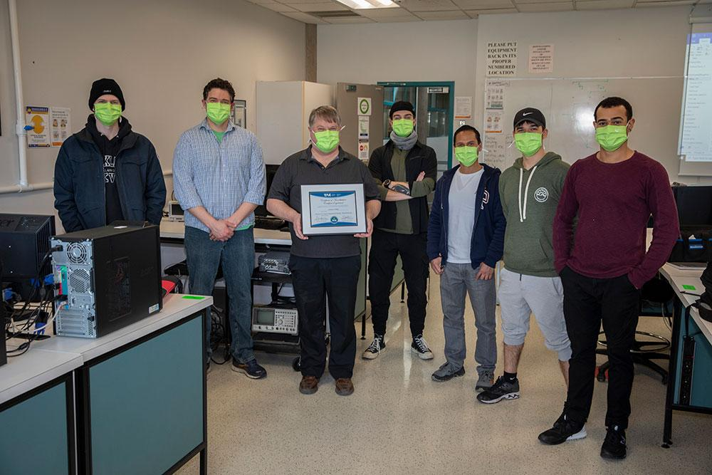Technology program at Camosun gets national recognition