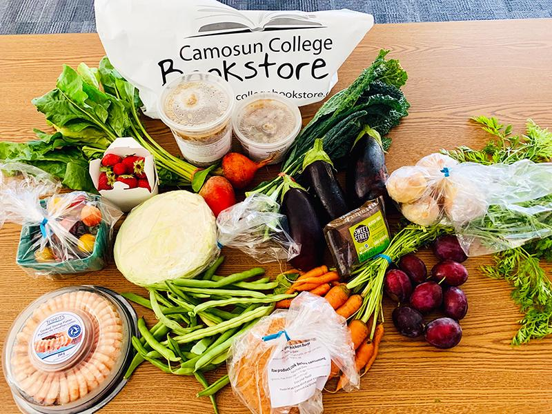 Camosun Cares: welcoming students back to school with fresh food and essential supplies