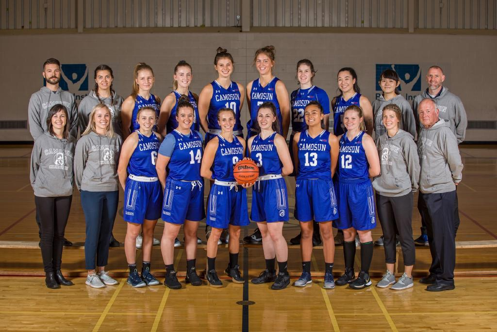Camosun Women's Basketball Team is primed for the season with an exciting new crew
