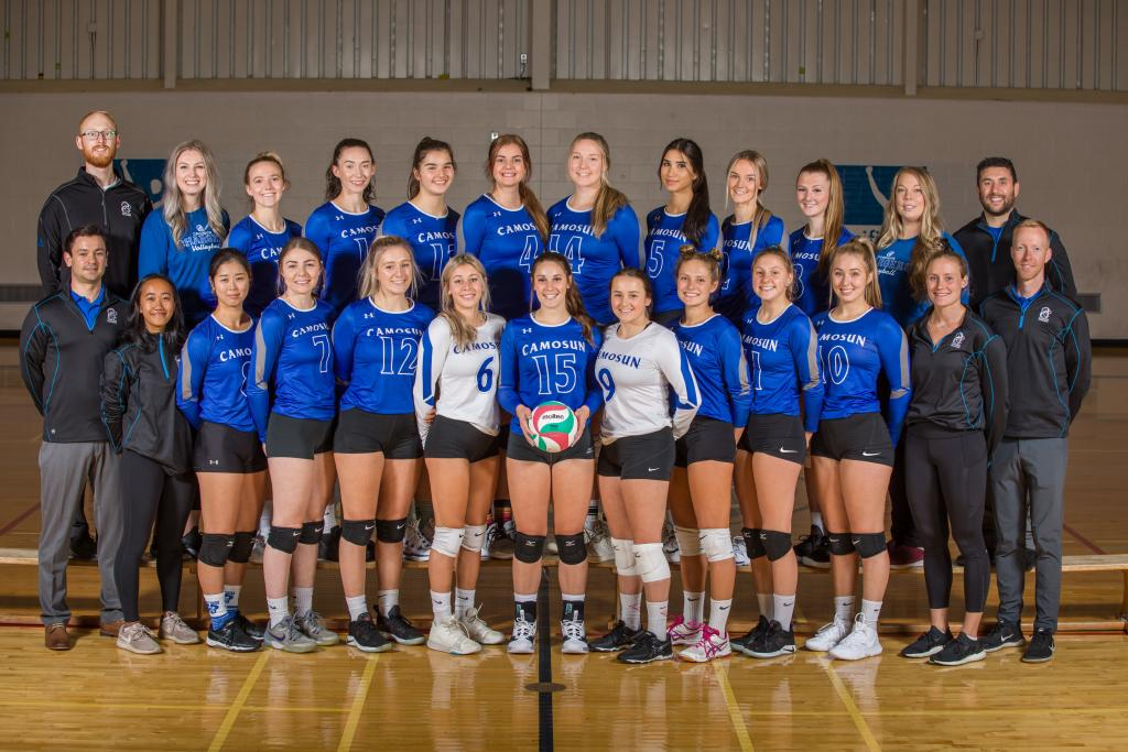 Camosun Chargers women's volleyball team sets up for exciting new season