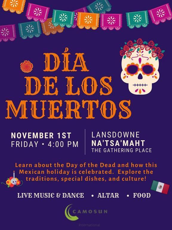 Camosun International presents: Día de los Muertos Festival