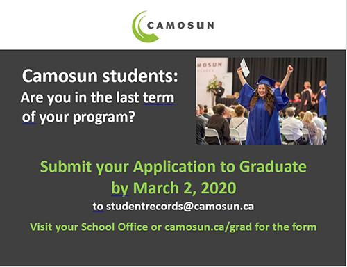 Application to Graduate