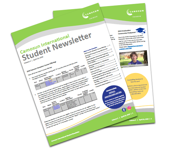 Camosun International Student Newsletter
