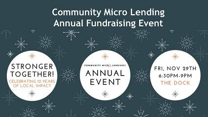 Camosun students organize fundraiser for Community Micro Lending's 10th anniversary