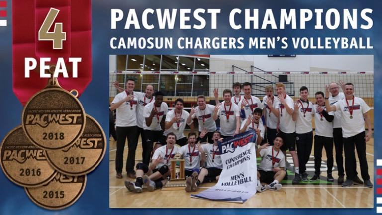 Chargers crowned PACWEST champions for fourth consecutive season