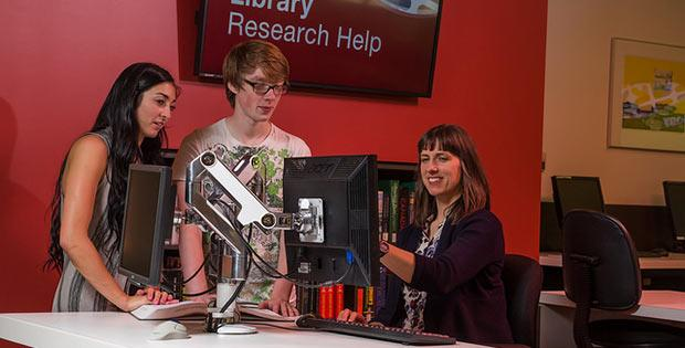 Research & writing help at Camosun Library...