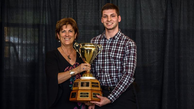 Chargers volleyball student-athlete Graham Basi earns prestigious President's Cup