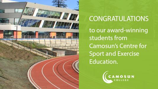 Camosun's Centre for Sport and Exercise Education recognizes its 2020 award-winning students
