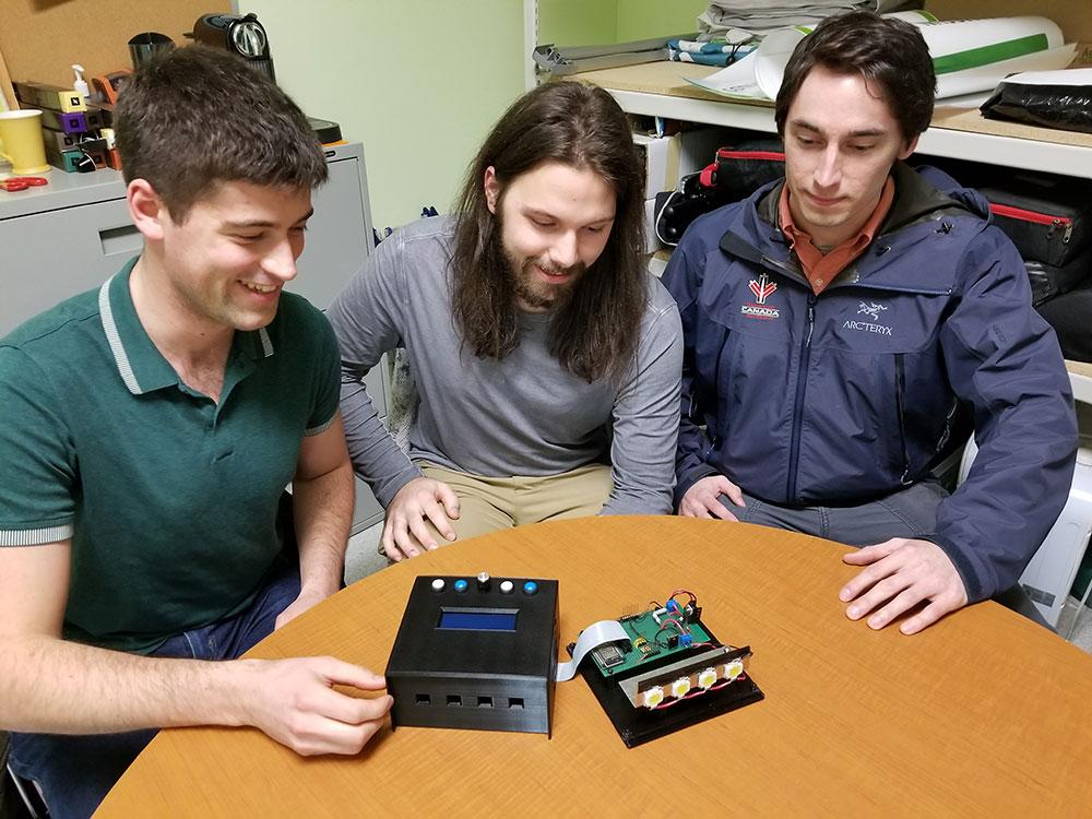 Camosun engineering students invent next generation strobe light at a fraction of commercial cost