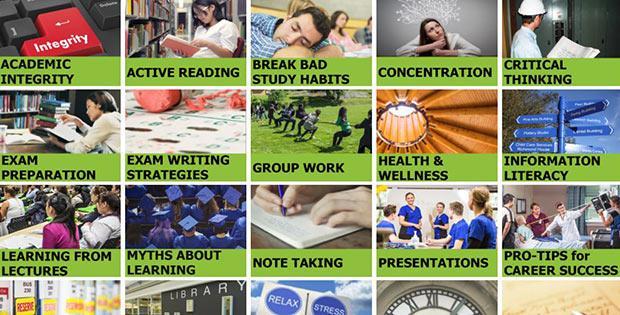 Visit the online student success centre...