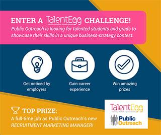 TalentEgg Challenges - Win a full-time job as a Recruitment Marketing Manager!