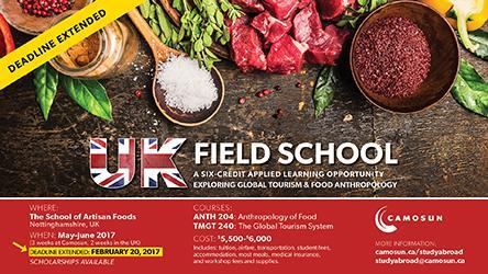 UK Field School- Deadline extended!