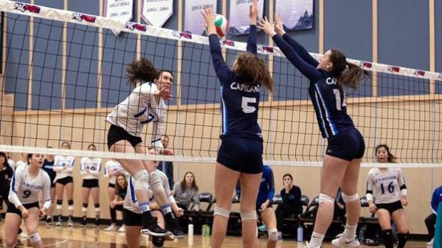 Chargers women's volleyball team edged out of bronze at PACWEST Provincial Championships